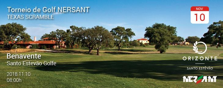 Torneio Golfe Empresarial NERSANT 2018
